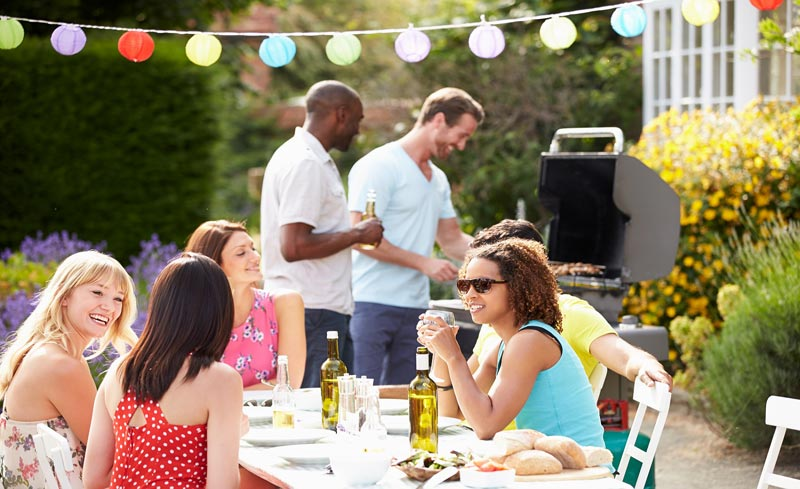 Diy backyard bbq party