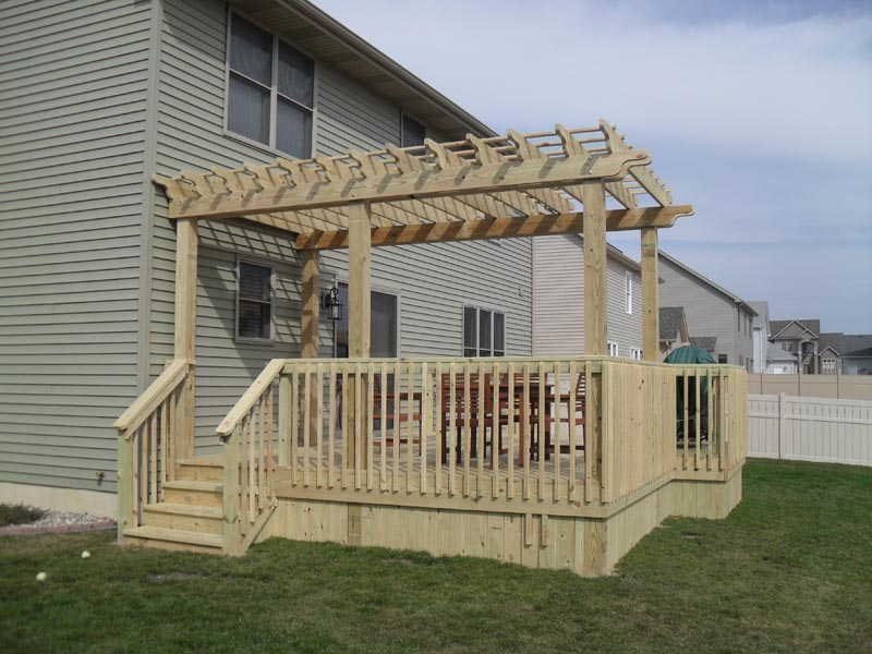 How to build a pergola attached to the house video