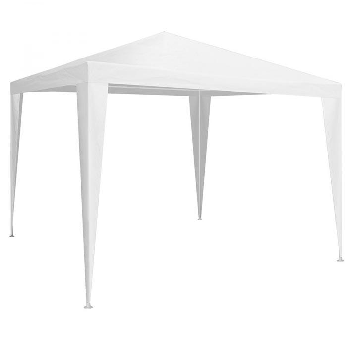 White gazebo 3×3