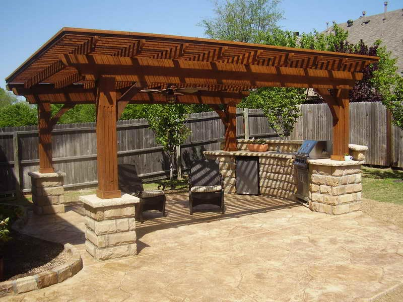 Bbq patio ideas pictures
