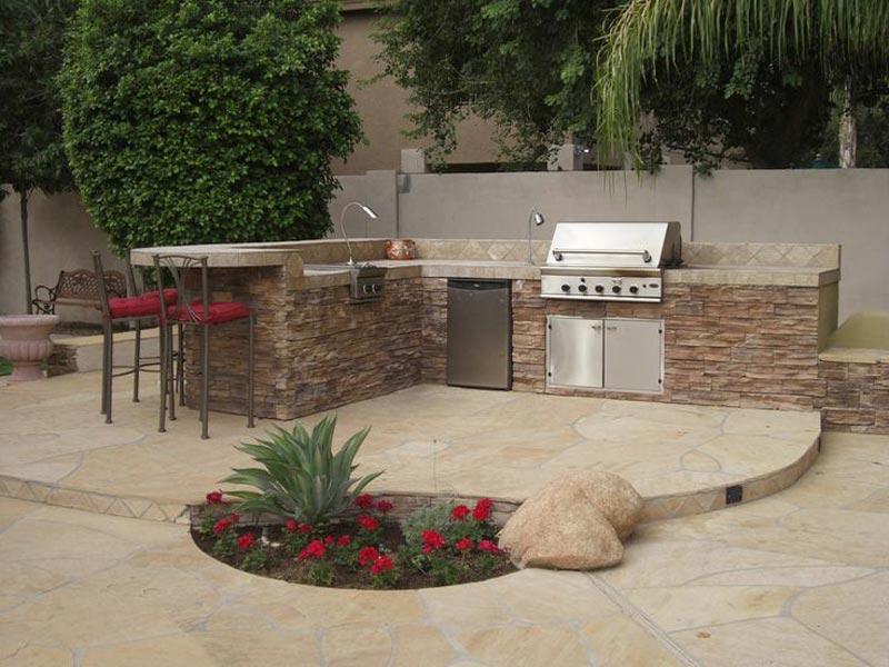 Bbq patio ideas