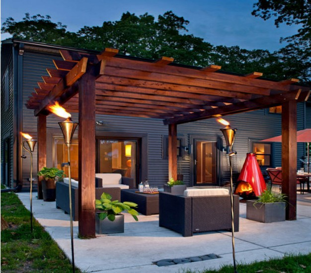 Brick fire pit designs is a part of outdoor fire pit designs picture