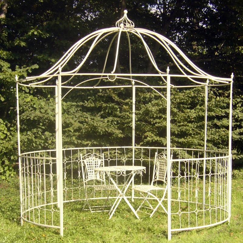 Arbor Garden Gazebo Trellis Metal