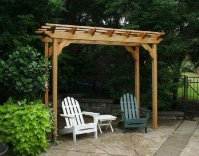 Building small pergola designs wooden outdoor small pergola