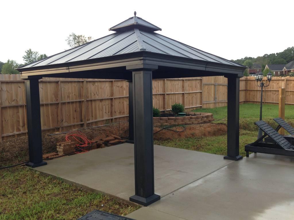 Fantastic royal hardtop gazebo costco | Garden Landscape on Backyard Pavilion Costco id=93306