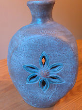 Terra Cotta Portable Outdoor/Indoor Table Top Chiminea VASE Candle Holder NWT