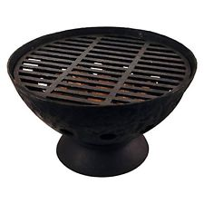 Esschert Design BV11 Low Profile Firepit with Grate, New, Free Shipping