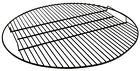 Fire Pit Cooking Grate for Grilling, Black, Heavy Duty Steel – Choose Size