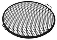 Fire Pit Cooking Grill Grate Food Round Ring 30 Inch Outdoor Campfire Camping