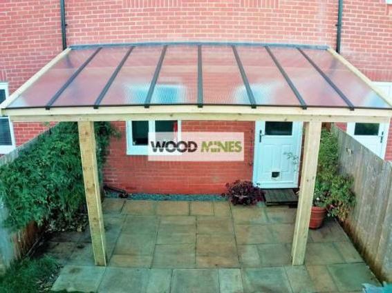 Accredited wooden gazebo